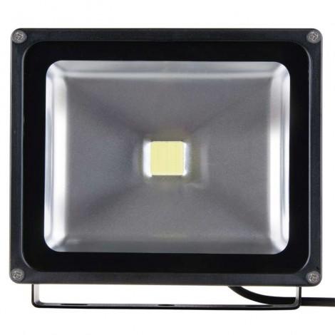 LED reflektor 30W studená biela