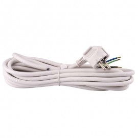 Flexo šnúra PVC 3x1,5mm - 5m biela
