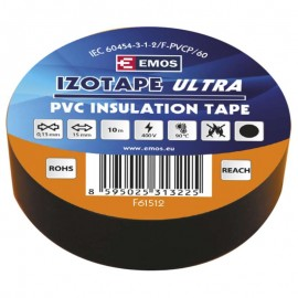 Izolačná páska PVC 15mm - 10m čierna