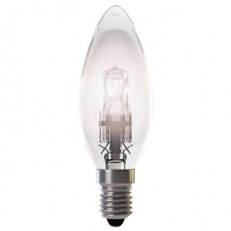 Halogénová žiarovka ECO candle 18W E14 teplá biela