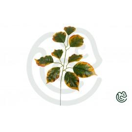 Umelá Rastlina Lipa Oranžovo-Zelená 55cm