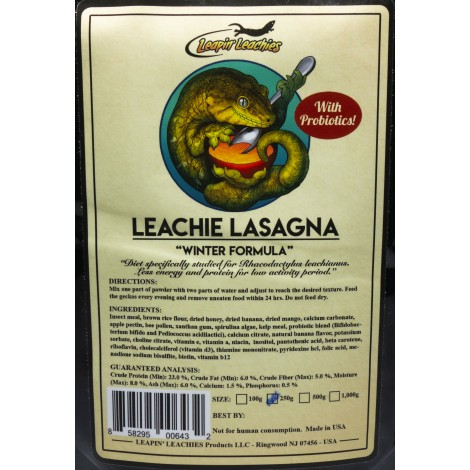 Leapin Leachies - LEACHIE LASAGNA