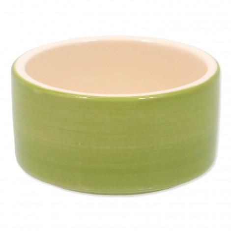 Miska keramická 10 cm zelená